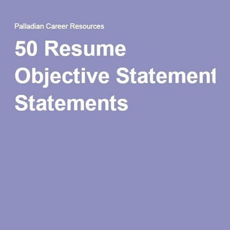 Sample of career objectives in a resume